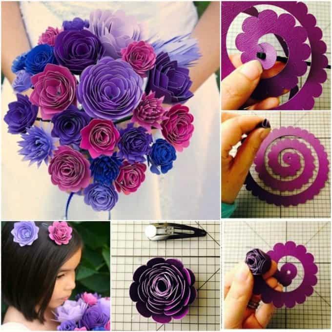 wedding flower bouquet template