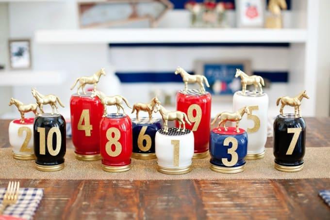 horse mason jars