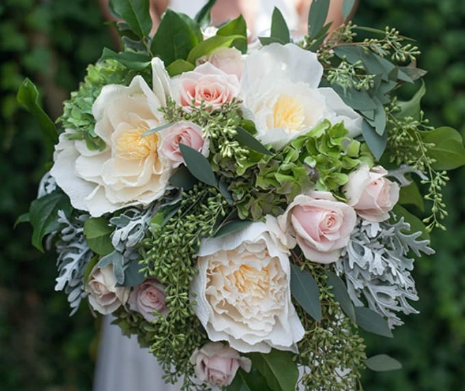 over-sized bouquet