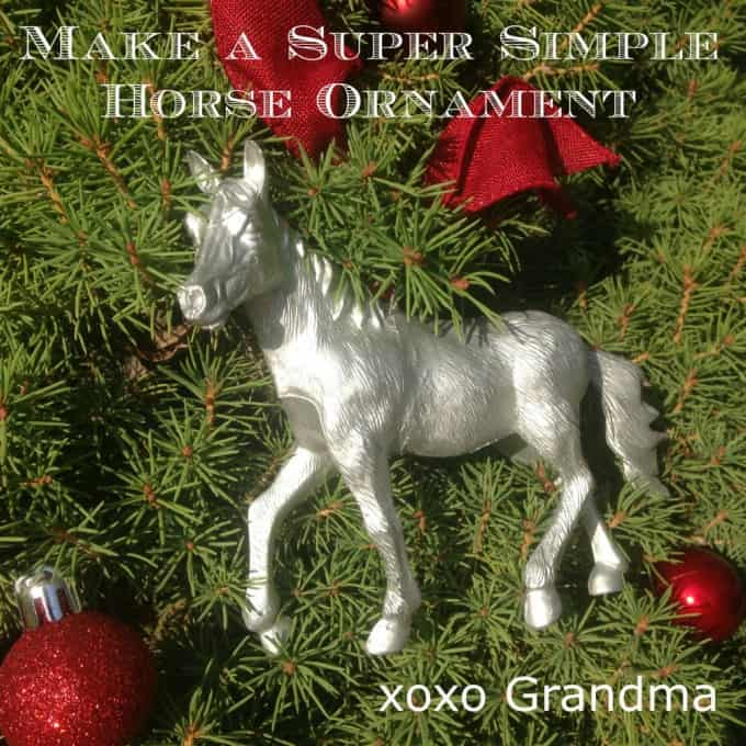 Horse Craft Ideas For Kids Part - 42: Horse Ornament