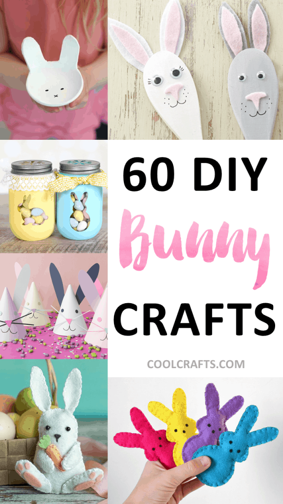 60 DIY Bunny Crafts You Can Make for Easter