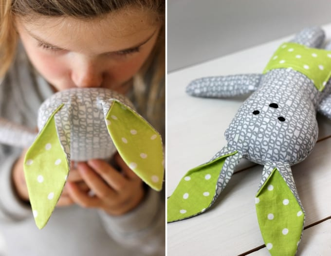 diy stuffed bunny