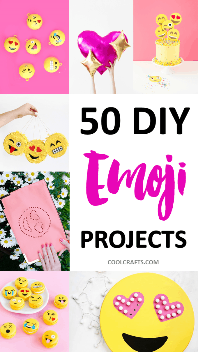 50 diy emoji craft ideas that will put a smile on your face share on pinterest biocorpaavc Images