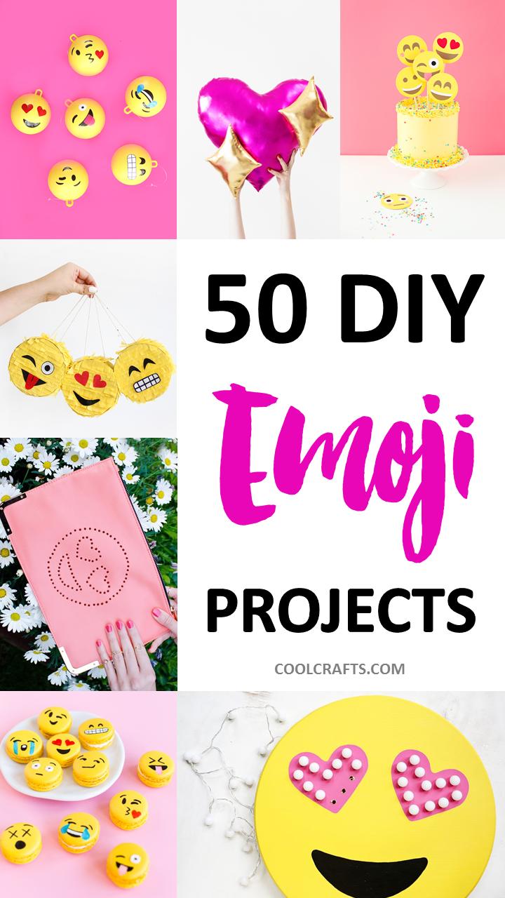 DIY Emoji Craft Ideas