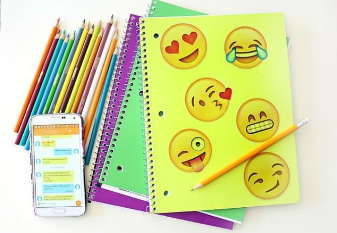 emoji notebook