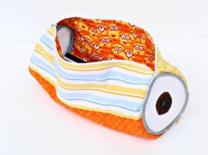 DIY Minion purse