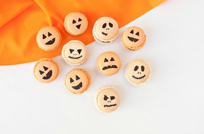Halloween inspired macarons