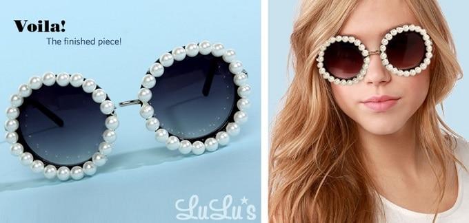 rihannas pearly chanel sunglasses