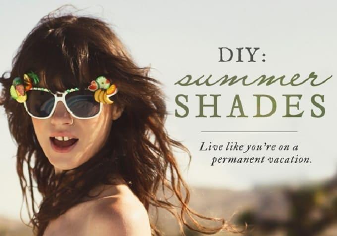 diy summer shades