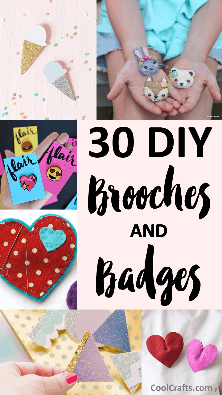 DIY Brooches