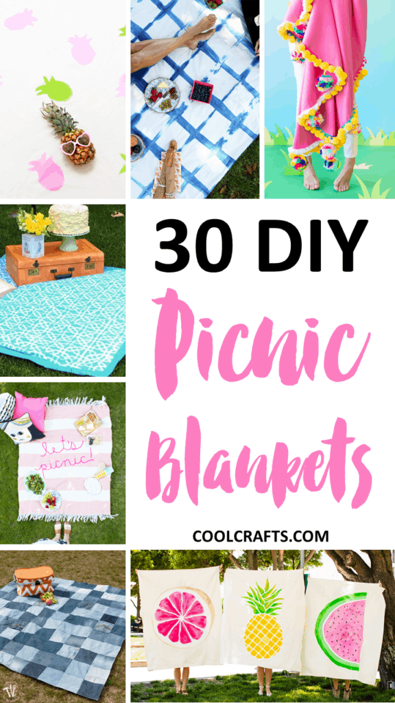 30 Wonderful Picnic Blankets That You'll Want to Recreate