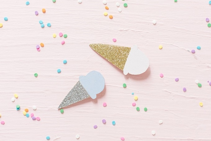 ice cream cone brooches