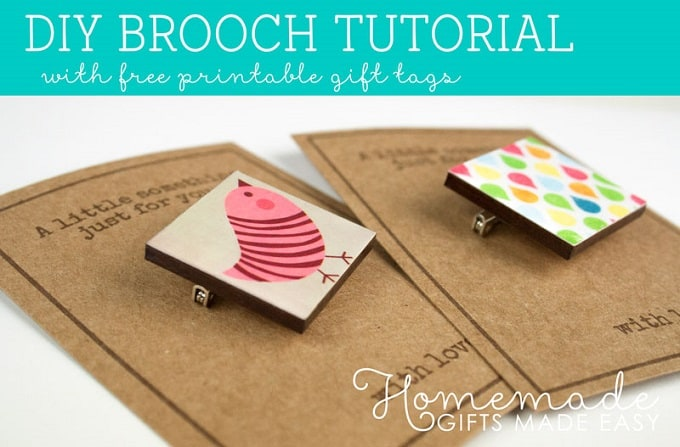 DIY brooch tutorial