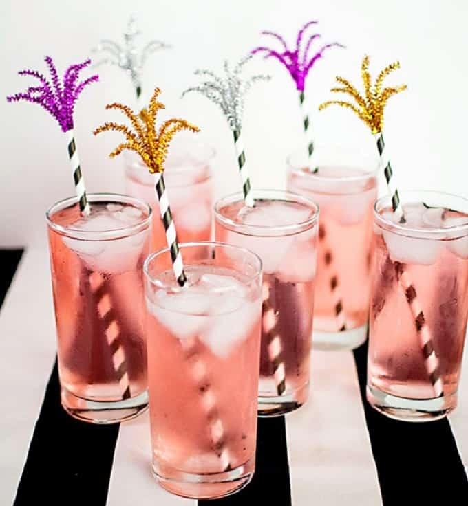 firework drink stirrers