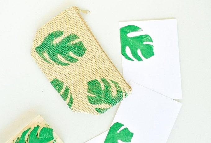 Palm Leaf Pouch