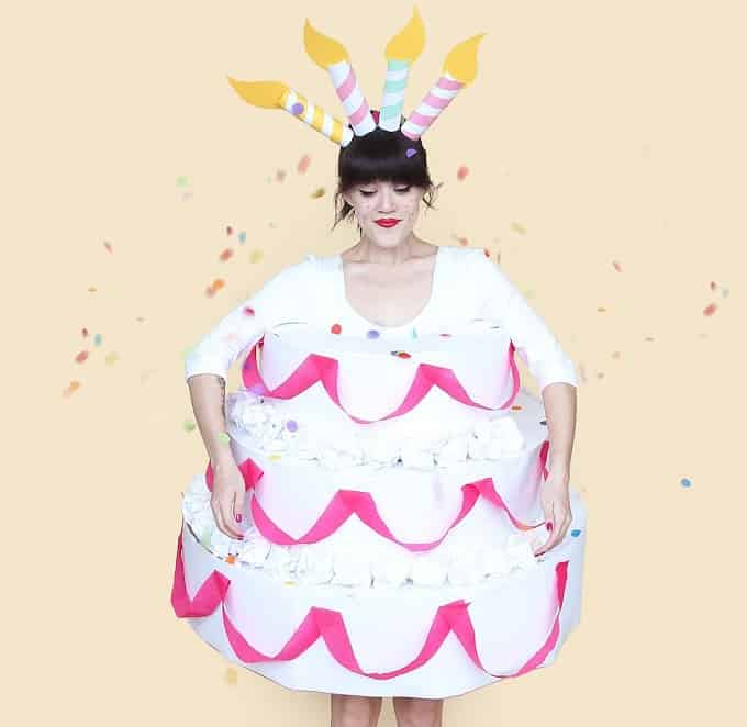 Cake Halloween Custome