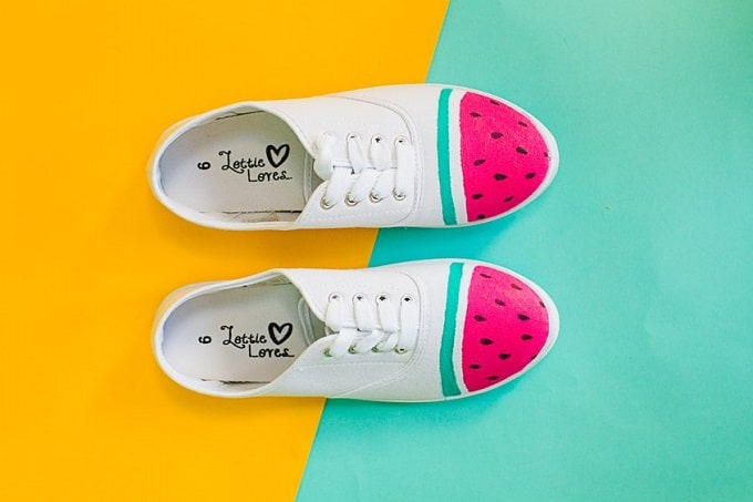 Watermelon Sneakers