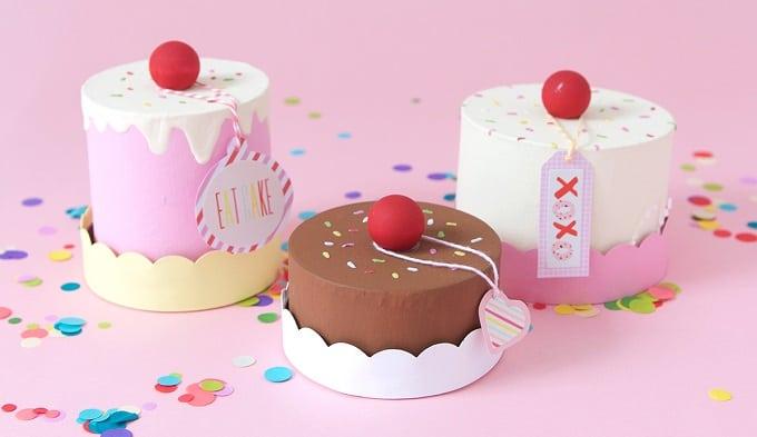 Paper Mache Cake Boxes