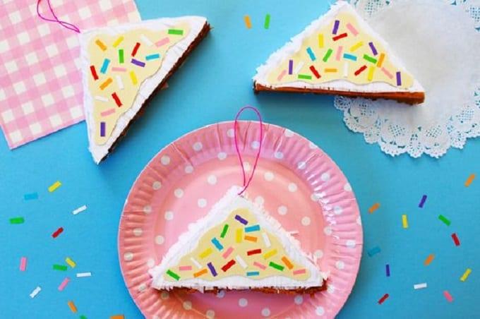 Fairy Bread Cake Piñatas