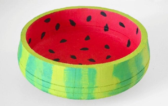 Watermelon Inspired Bowl