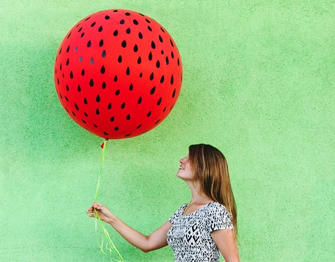 Watermelon Inspired Balloon