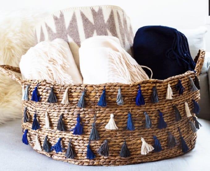 Tassel Basket