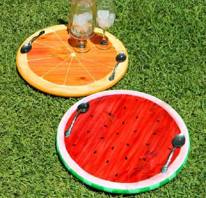 Summer Fruit Trays