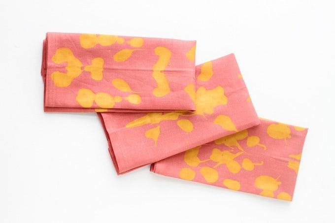 inkblot napkins