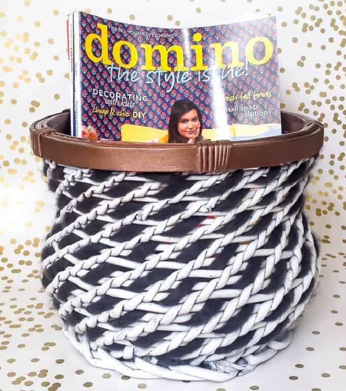 DIY Basket Makeover Idea