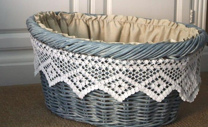 Laundry Basket Makeover
