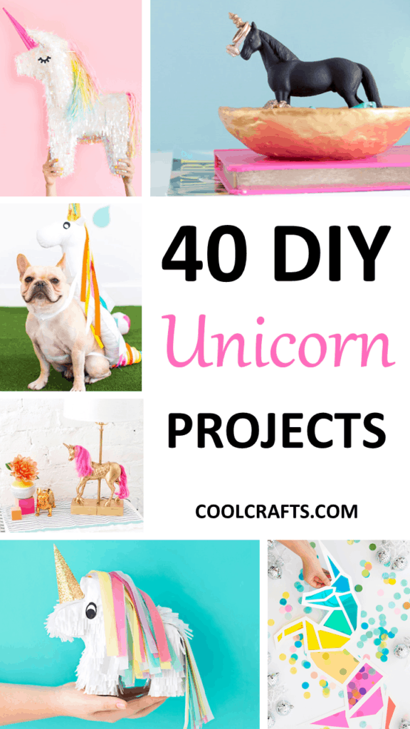 40 Majestic DIY Unicorn Craft Ideas