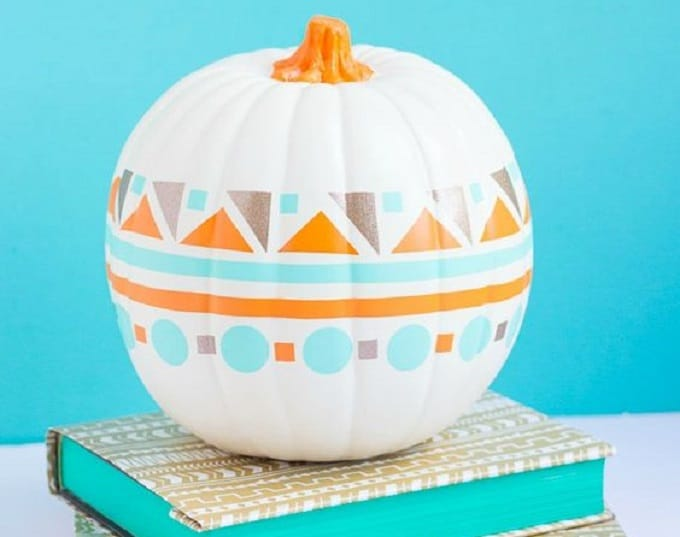 geometric pumpkin