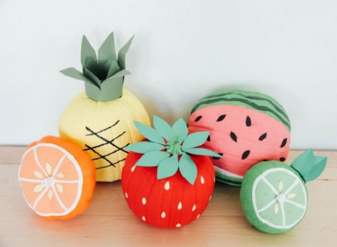 fruit pumpkins