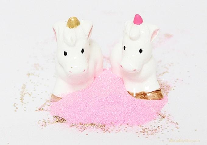 unicorn glitter shakers
