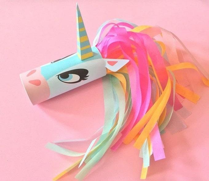 unicorn toilet paper roll holder