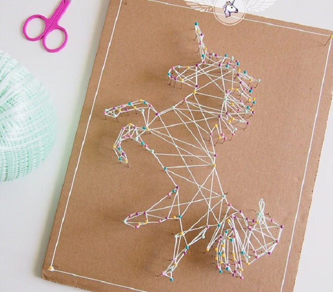40 majestic diy unicorn craft ideas cool crafts. Black Bedroom Furniture Sets. Home Design Ideas