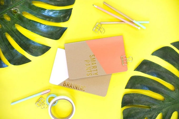 gold foil clipboards
