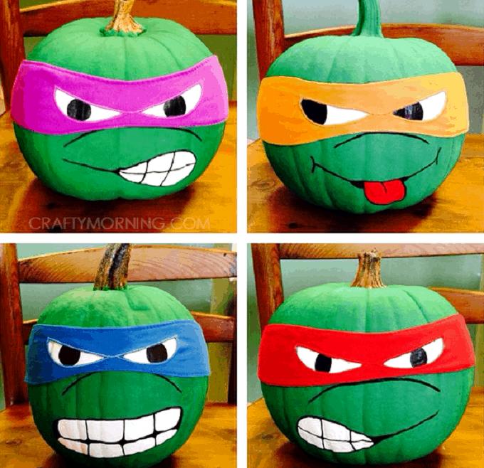 Ninja Turtles pumpkin
