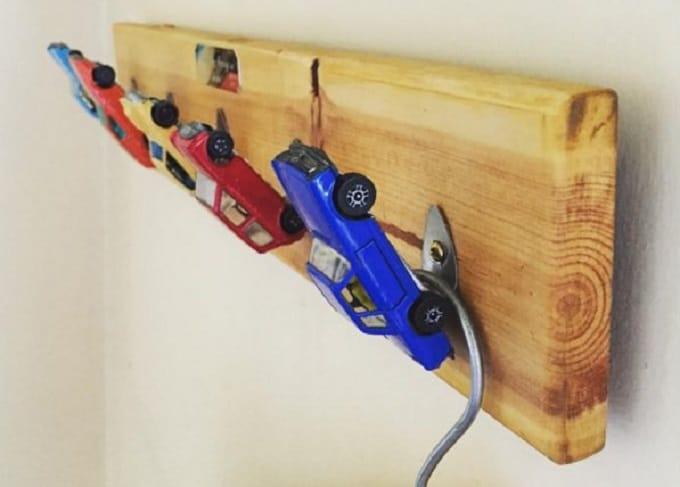 hot wheel toy wall hook