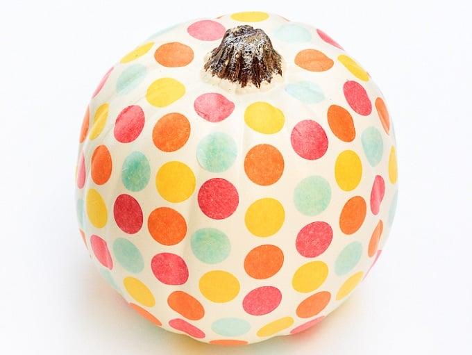 confetti pumpkin