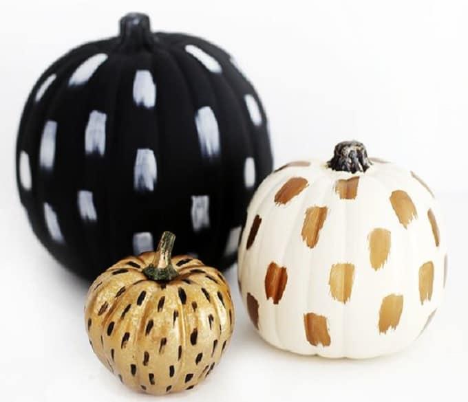 brushstroke pumpkin