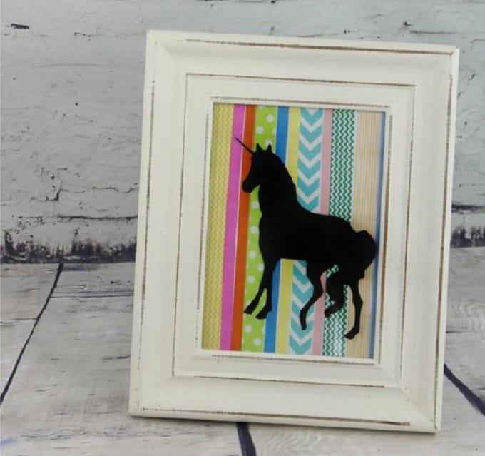 Unicorns and washi tape