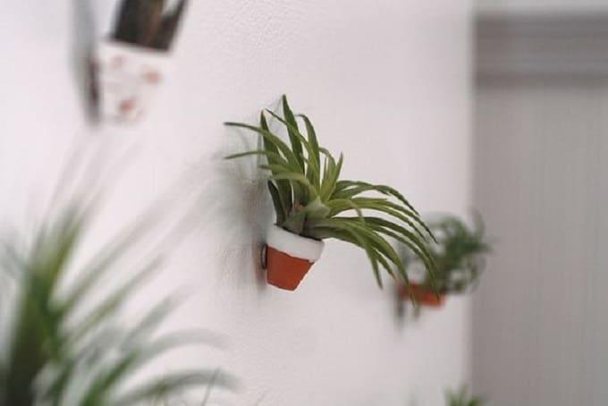 mini plant pot magnets