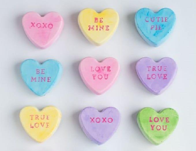 Conversation Heart magnets