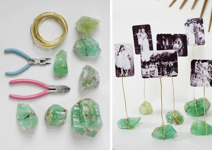 gemstone photo display