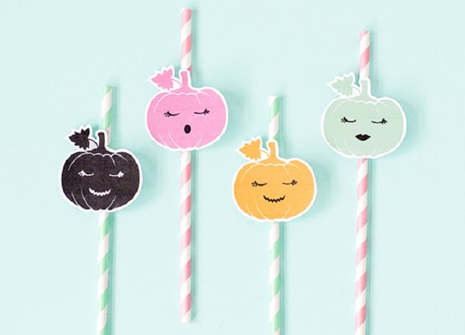 pumpkin straw toppers