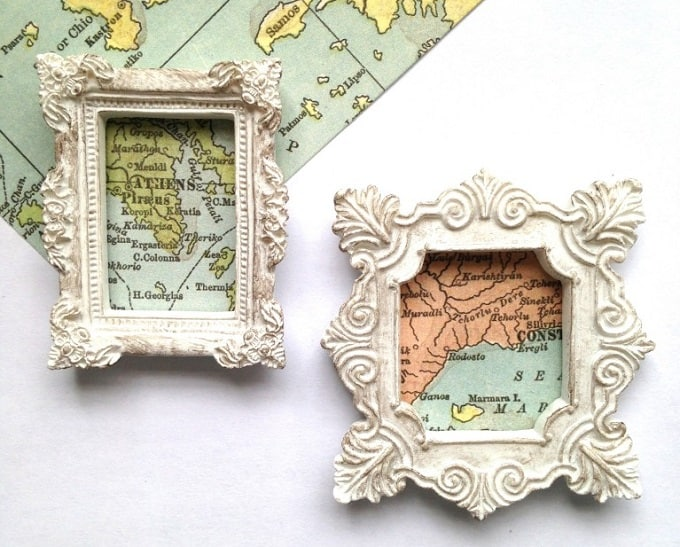 miniature map magnets
