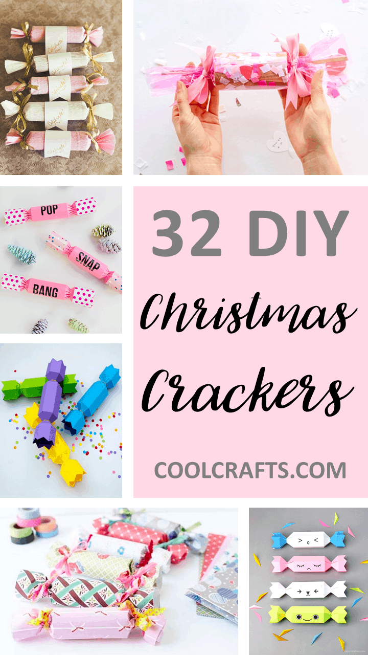Make It Snappy! 32 Christmas Crackers You Can Make Yourself. | Coolcrafts.com