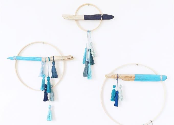 tassel wall hangings