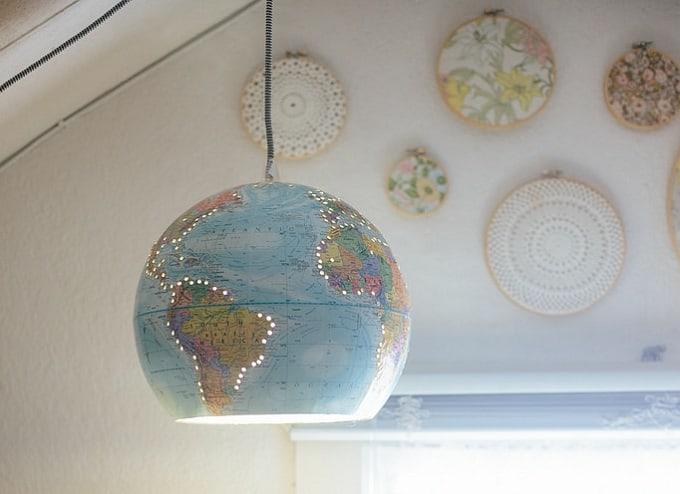globe hanging light